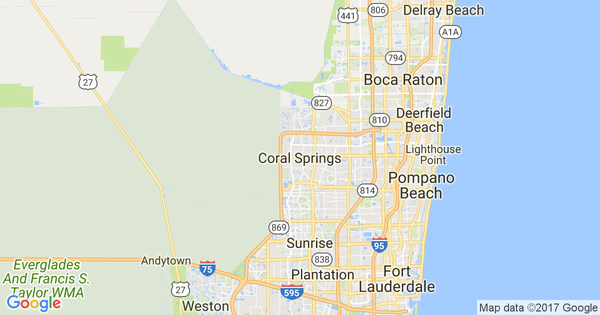 Map Of Florida Showing Coral Springs.18 Best Things To Do With Kids In Coral Springs Winnie